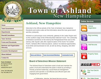 Town of Ashland, New Hampshire