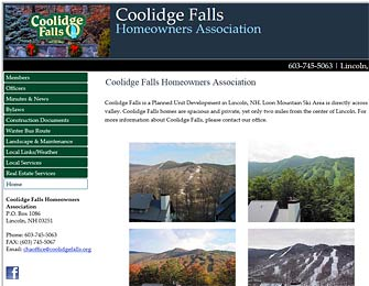 Coolidge Falls Homeowners Association