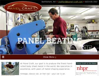Panel Craft hand-rolled body sheet metal
